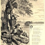 иллюстрация к стихотворению Н. Ленау - Три цыгана