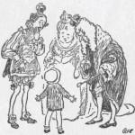 Малыш, король и придворные