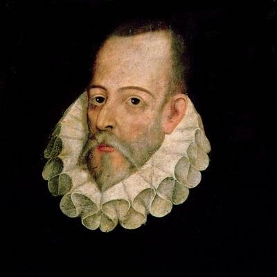 портрет Мигеля де Сервантеса Сааведра