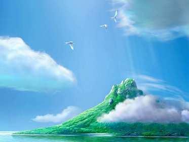 Прекрасный остров-мираж