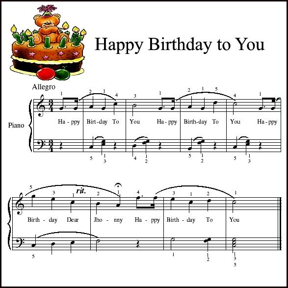 Поздравление с днем рождения от души (своими) 5