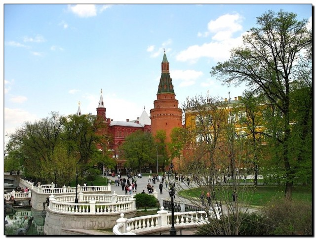 Вид на исторический музей с Манежной площади