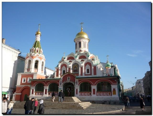 Церковь на Красной площади