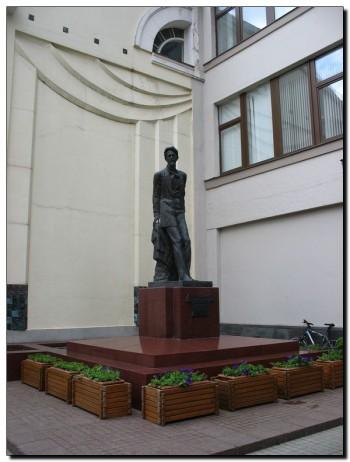 Памятник Антону Павловичу Чехову в  Москве