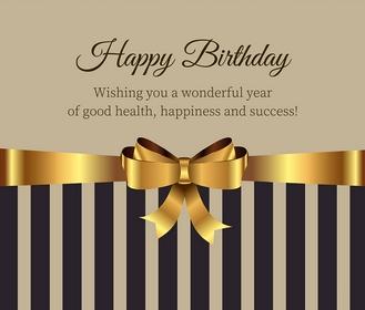 Поздравления с днем рождения бизнесмену в прозе - Поздравок 91