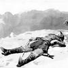 убитый солдат