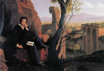 Joseph Severn - Posthumous Portrait of Shelley 1845