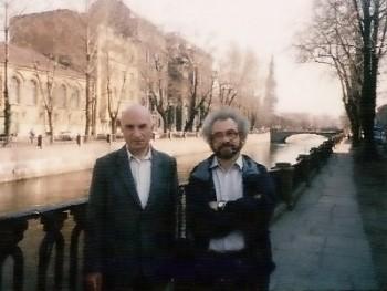 Жак Шарпантро и Михаил Яснов