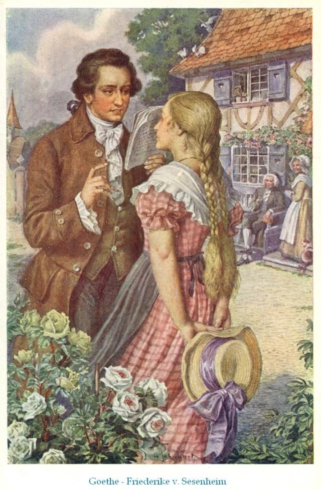 Гёте и Фридерика