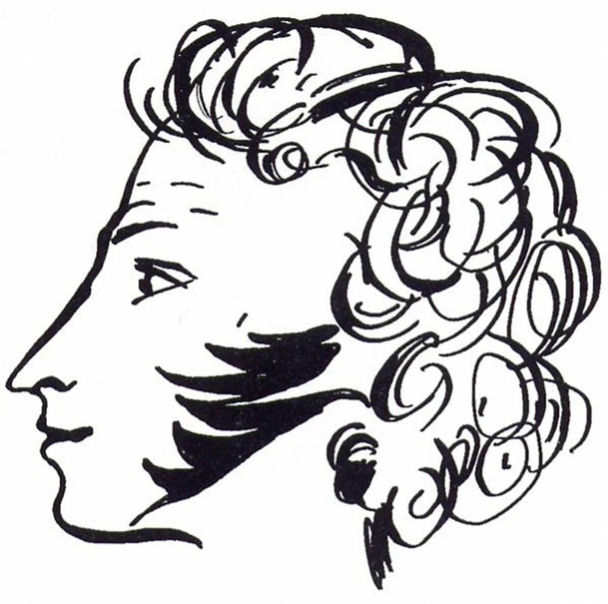 картинки рисунки пушкина