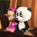 Маша и маленькая панда