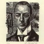 портрет Николая Гумилёва