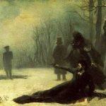 роковая дуэль Пушкина