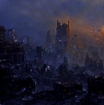 город во мраке