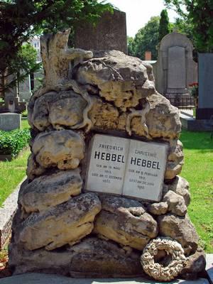 могила Фридриха Хеббеля