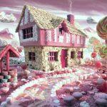 Сладкий домик в сладком мире