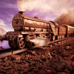 поезд из шоколада