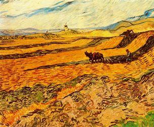 Vincent van Gogh, paisajes y vistas