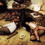Страна лентяев — картина Питера Брейгеля Старшего