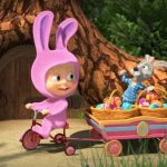Маша и пасхальный кролик