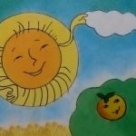 Солнышко - рисунок