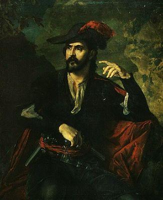 портрет разбойника