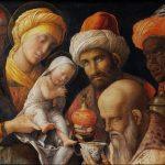 Волхвы, Дева Мария и младенец