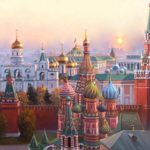Утро в Москве. Кремль