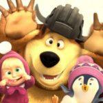 Маша, Медведь и пингвиненок