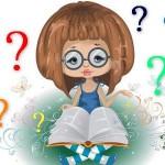 рисунок девочка с книжкой
