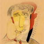 модернистский рисунок лица