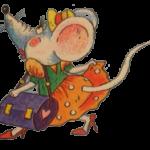 мышка с сумочкой