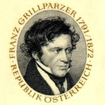 Франц Грильпарцери - изображение с марки