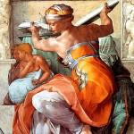 Фрагмент фресок Сикстинской капеллы
