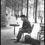 Жак Превер с собакой