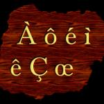 Буквы со значками