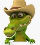 крокодил в шляпе