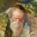 наклонившийся старик