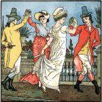 Танцующие пары на Авиньёнском мосту