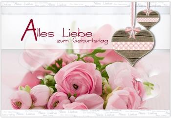 Поздравление с днем рождения женщине в стихах на немецком