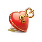 сердце с ключиком