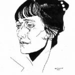 Портрет А. А. Ахматовой. 1921 Анненков ЮП