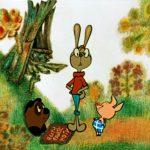 Винни-Пух, Кролик и Пятачек