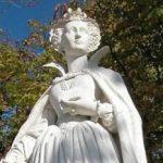 Статуя Марии Стюарт в Люксембургском саду