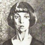 портрет неузнаваемой Цветаевой