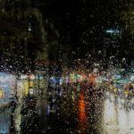 Il pleuvait