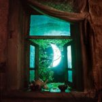 Луна (месяц) в окне