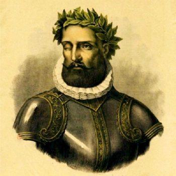 портрет Луиса де Камоэнса