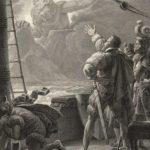 Aparição do Gigante Adamastor, na passagem do Cabo de Boa Esperança