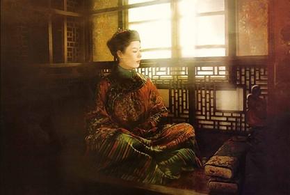 рисунок китайская девушка в национальной одежде